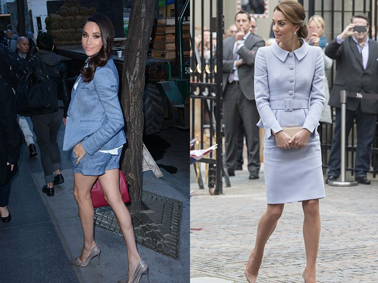 kate-middleton-meghan-markle-stile