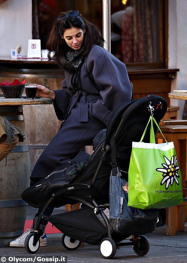 Francesca Chillemi mamma, vacanze a Cortina con la figlia Rania