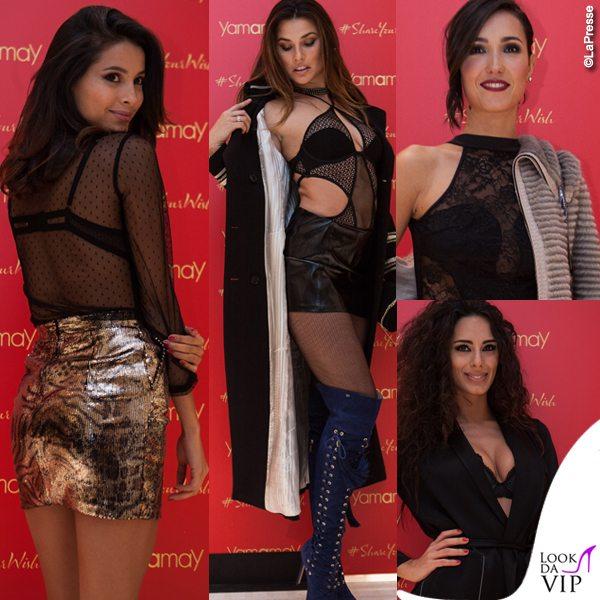 Mariana-Rodriguez-Dayane-Mello-Caterina-Balivo-Raffaella-Modugno-Yamamay