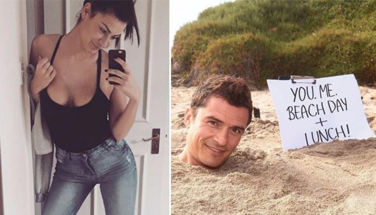Orlando Bloom si scusa con la bella Viviana, la cameriera licenziata per aver passato una notte con lui ...