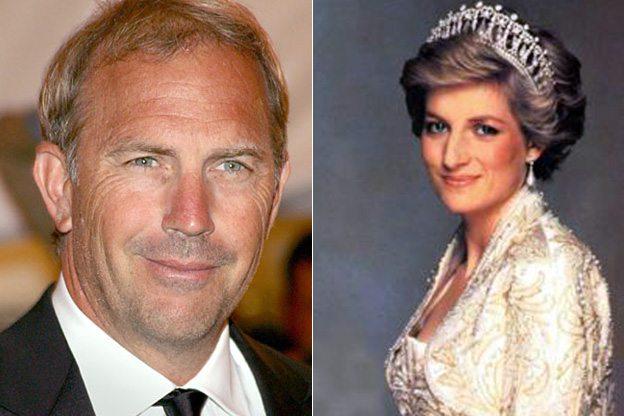 """Lady Diana, l'ex capo della sicurezza dei Windsor: """"Anche Kevin Costner tra i suoi amanti"""""""