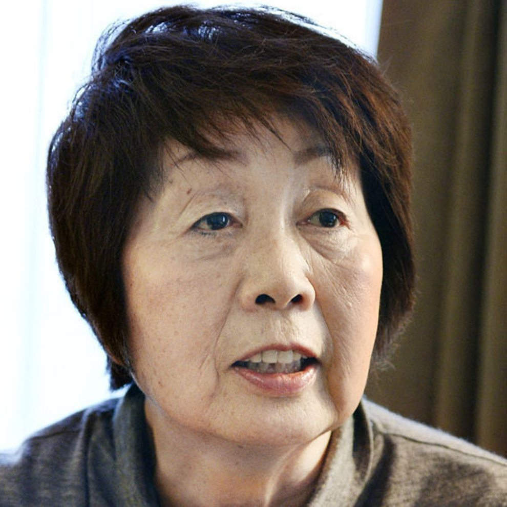 This May 2014 photo shows Chisako Kakehi. A Japanese court has sentenced the woman to hang in a serial poisoning murder case targeting elderly men, including her husband. Kakehi, 70, was convicted Tuesday, Nov. 7, 2017, of killing her husband and two ex-partners, as well as in attempted murder of a fourth victim between 2007 and 2013. (Kyodo News via AP)