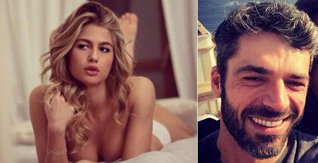 Luca Argentero e Cristina Marino ritorna l'amore, teneri baci durante la trasferta