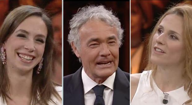 Giletti nella morsa delle pornostar Malena e Michelle Ferrari:
