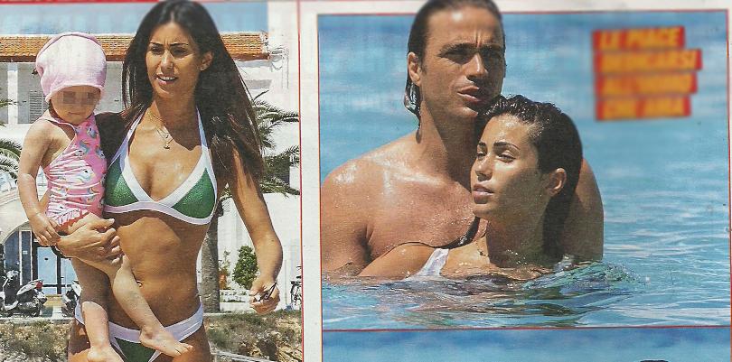 Federica Nargi in attesa di tornare in tv: fuga con Alessandro Matri e la figlia Sofia a Formentera