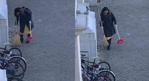 La 'spazzina anonima' identificata: è una cantante giappones