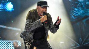 Italian singer-songwriter Vasco Rossi performs on stage at Olimpico Stadium in Rome, Italy, 11 June 2018. ANSA/ALESSANDRO DI MEO