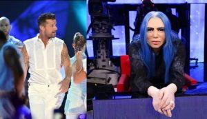 Amici 18 |  Ricky Martin furioso con Loredana Bertè |  «Sono omosessuale |  so cosa è bullismo