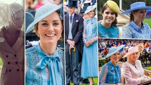 "Kate Middleton se la ride con le ""cugine"" al Royal Ascot. E"