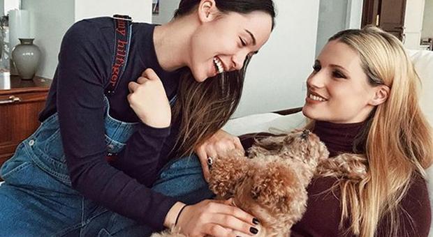 Michelle Hunziker e la barboncina Lilly: «Sono rimasta incin