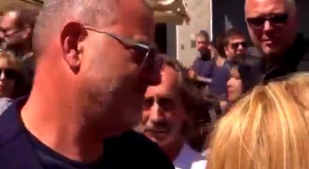Nadia Toffa, domanda choc a Giulio Golia ai funerali: «Ci fa
